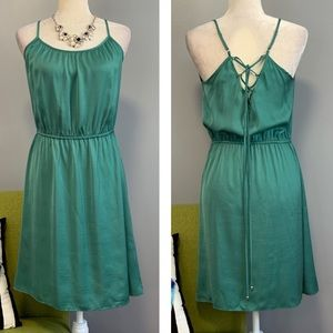 Market & Spruce Kadisha Green Dress Stitch Fix